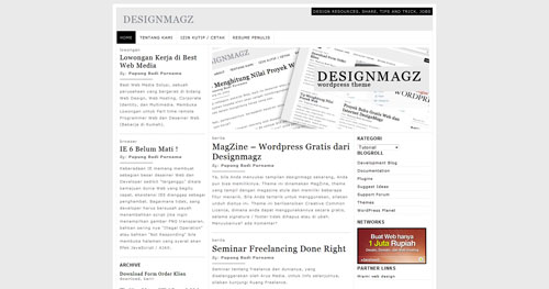 MagZine WordPress Theme