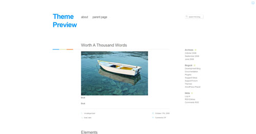 Neutra WordPress Theme