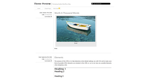 omegaX WordPress Theme
