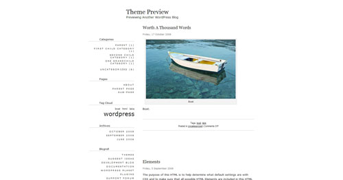 Apricot WordPress Theme