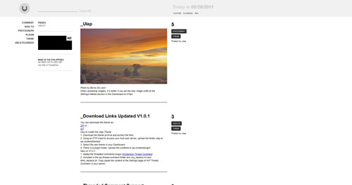 Ulap WordPress Theme