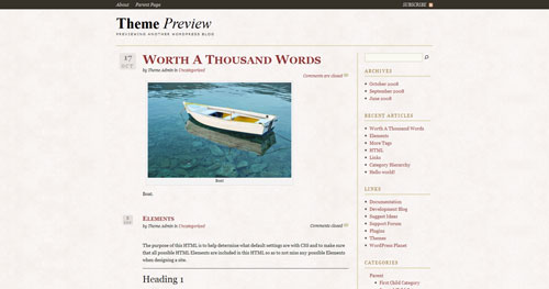 The Essayist WordPress Theme