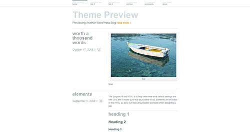 Wu Wei WordPress Theme