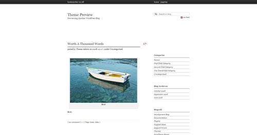 Karappo Style WordPress Theme