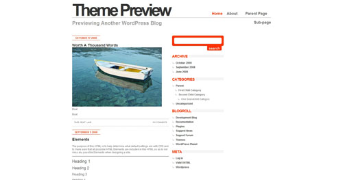 Minimahl WordPress Theme