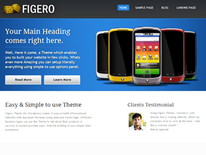 free figero business wordpress theme