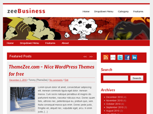 free zeebusiness business wordpress theme