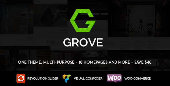 grove responsive multipurpose wordpress theme