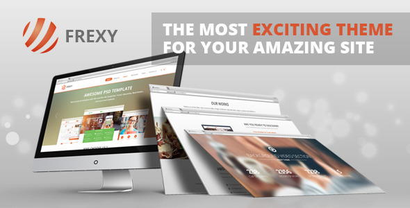 frexy responsive multipurpose theme