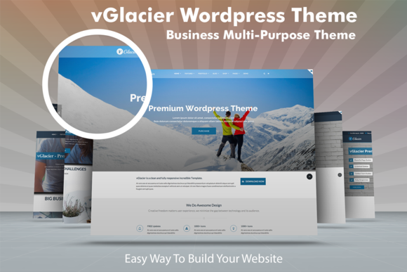 responsive multipurpose wp theme