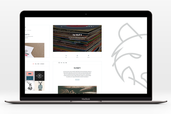 wolf premium wordpress theme