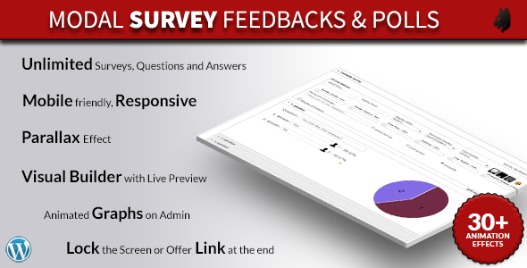 modal survey  wordpress feedbacks  polls plugin screenshot