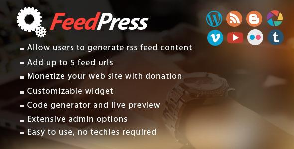 feedpress screenshot