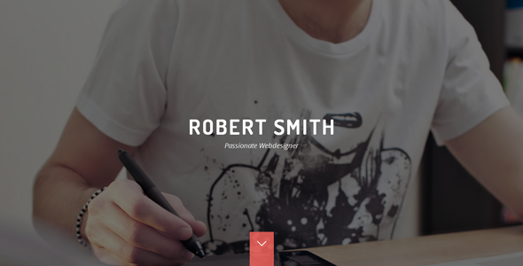 robert smith responsive retina resume theme cv