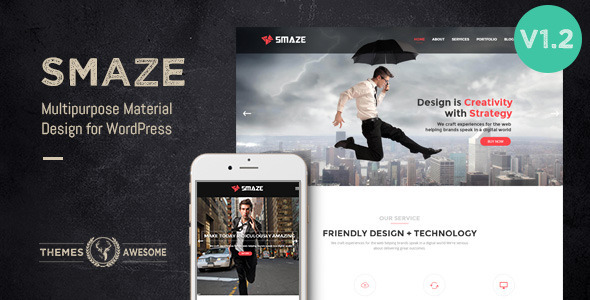 smaze multipurpose theme that is modern width=