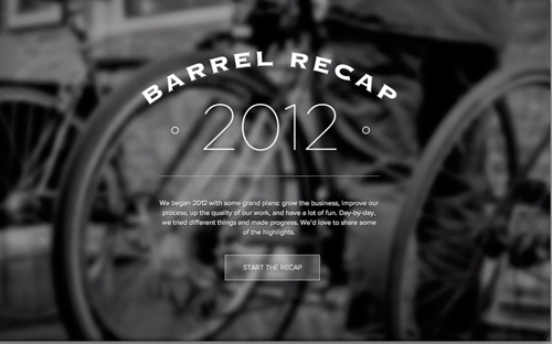 barrel 2012 recap screenshot