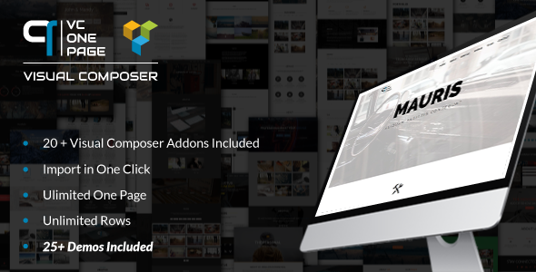 vc one page builder