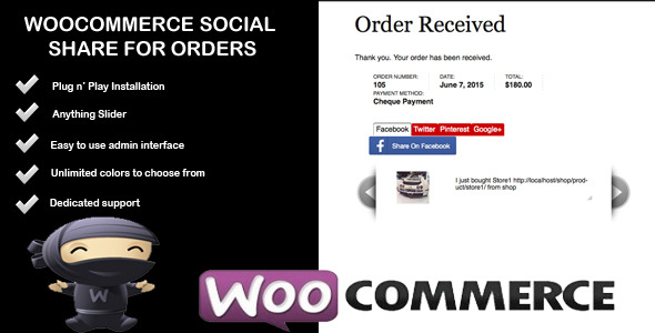 woocommerce social share for sales