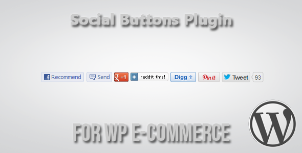 social buttons for wp ecommerce