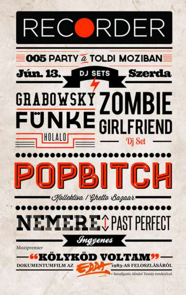 typographic posters screenshot