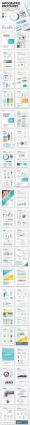 infographic brochure elements bundle screenshot