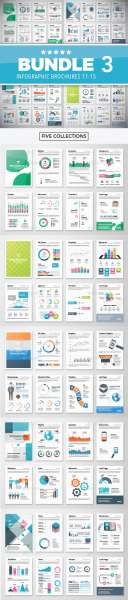infographic brochure elements bundle 3 screenshot