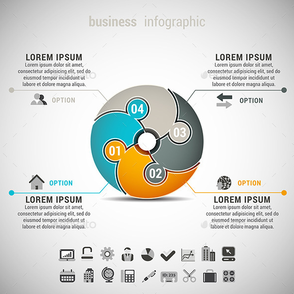 business infographic screenshot