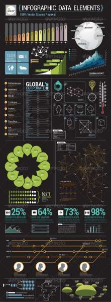 infographic data elements screenshot