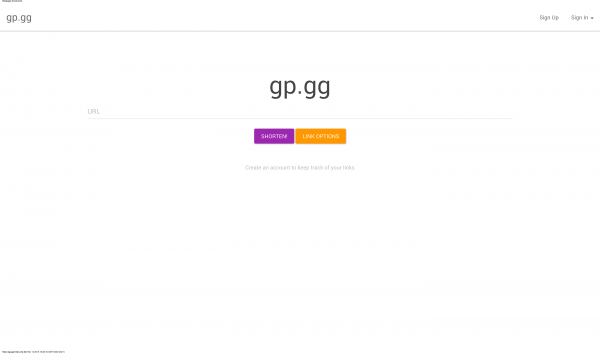 gp.gg url shortener