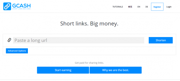 gcash url shortener