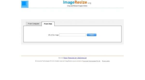 imageresize online photo editor