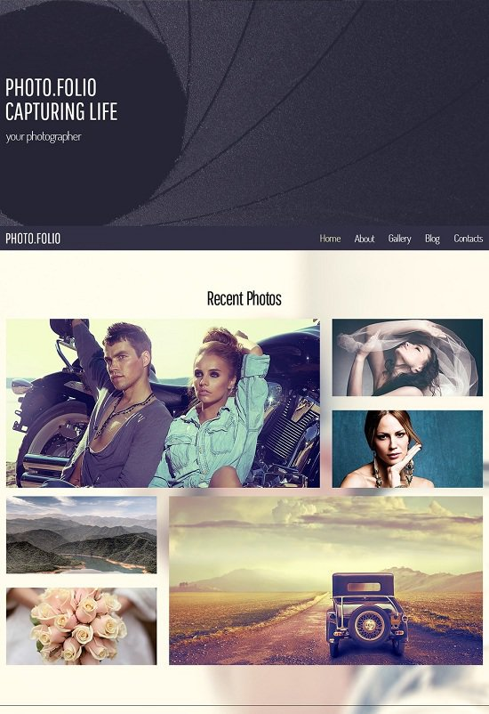 free responsive theme that is website photo web site