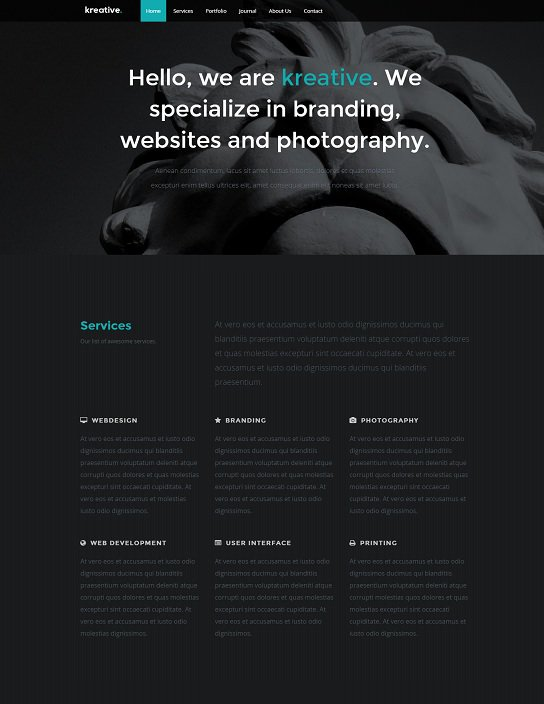 easier a business portfolio flat|portfolio that is corporate bootstrap responsive web template screenshot