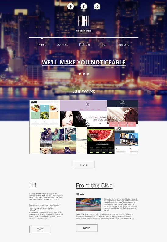 free design that is responsive template