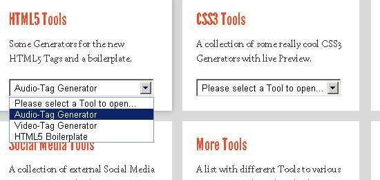 html5 / css3 box