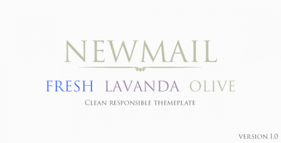 newmail versatile email template for everybody