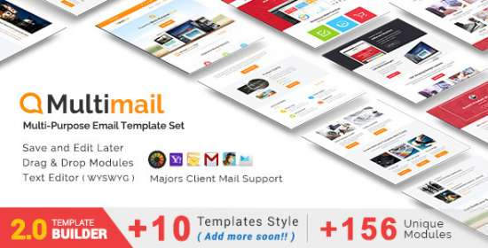 multimail responsive e-mail set mailbuild online