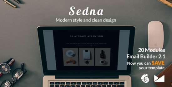 sedna email emailbuilder that is template