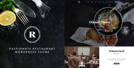 restaurant restaurant cafe bar wp theme