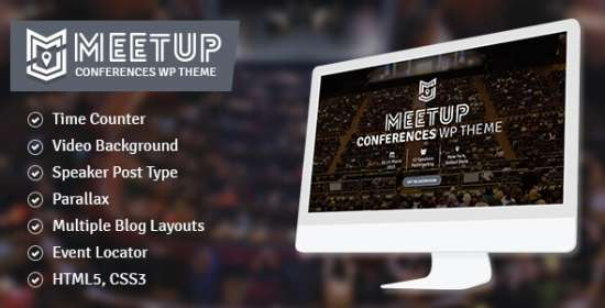the meetup meeting event wordpress theme