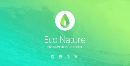 eco nature environment ecology html5 template