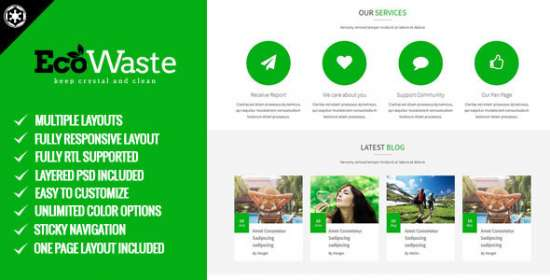 ecowaste environmental html5 theme
