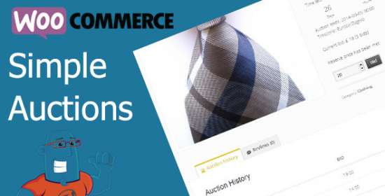 woocommerce easy auctions