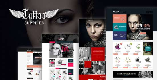 leo tattoo responsive prestashop theme