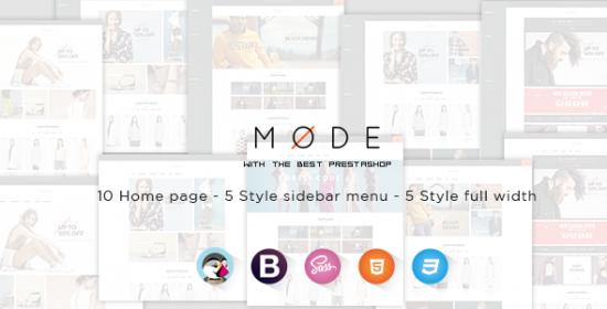 leo mode responsive prestashop theme