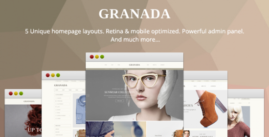 granada ultimate responsive prestashop theme