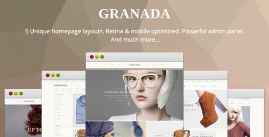 granada ultimate responsive prestashop theme