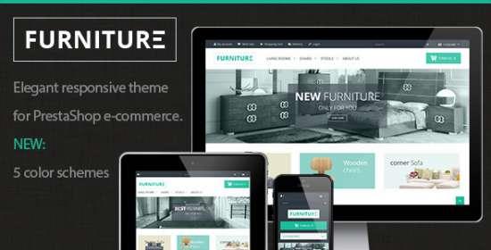 furniture elegant responsive prestashop theme