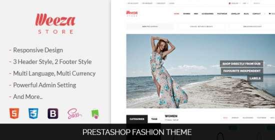 sns weeza responsive prestashop theme
