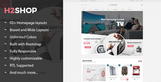 h2shop multipurpose responsive prestashop theme